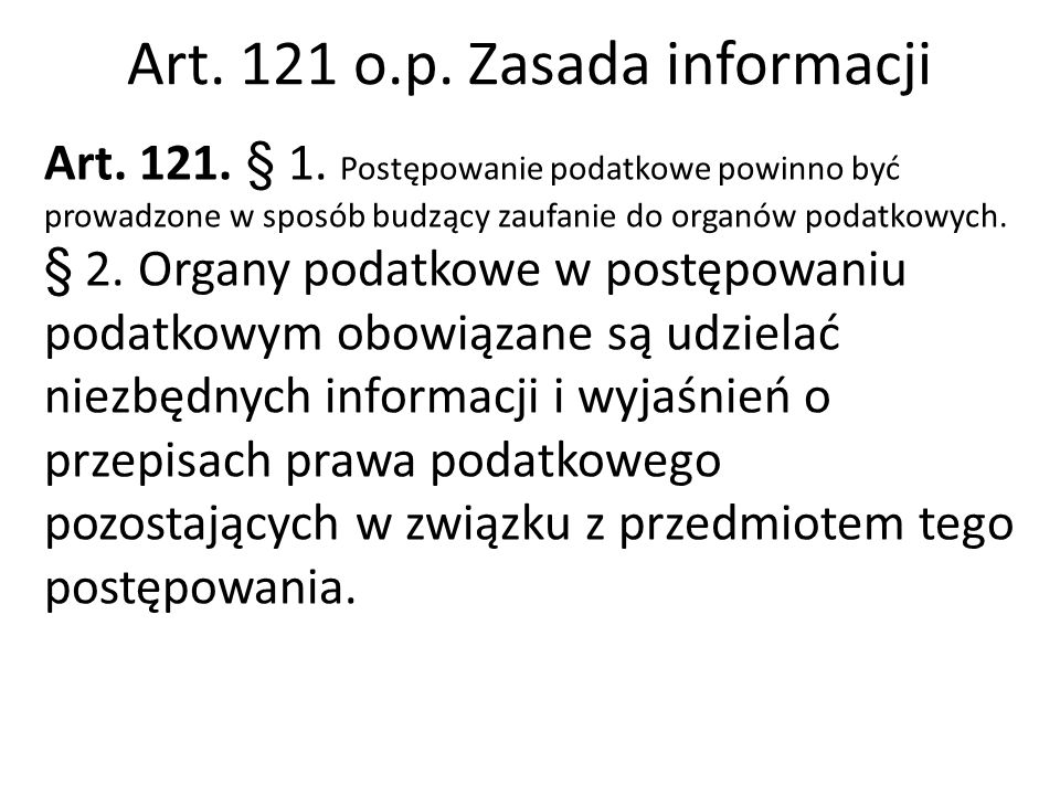 Art.14 O.p. Nadzór Ministra Finansów Art. 14.