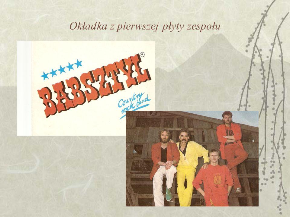 Okładka z pierwszej płyty zespołu