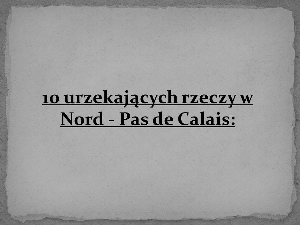 10 urzekających rzeczy w Nord - Pas de Calais: