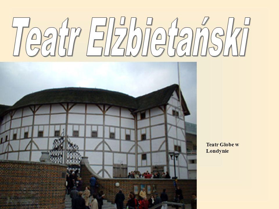 Nazwa pochodzi od Elżbiety I, która panowała gdy teatr powstawał.