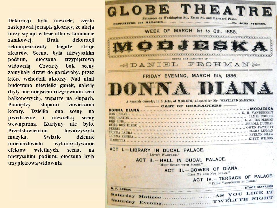 Najważniejszymi elementami widowiska były gra aktorska i tekst dramatu.