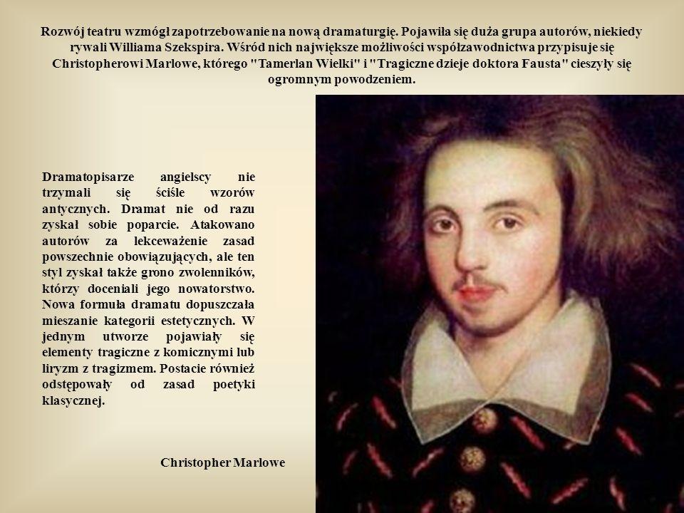 Szekspir w Makbecie załamał klasyczną regułę trzech jedności (nie tylko to w nie tylko tym).