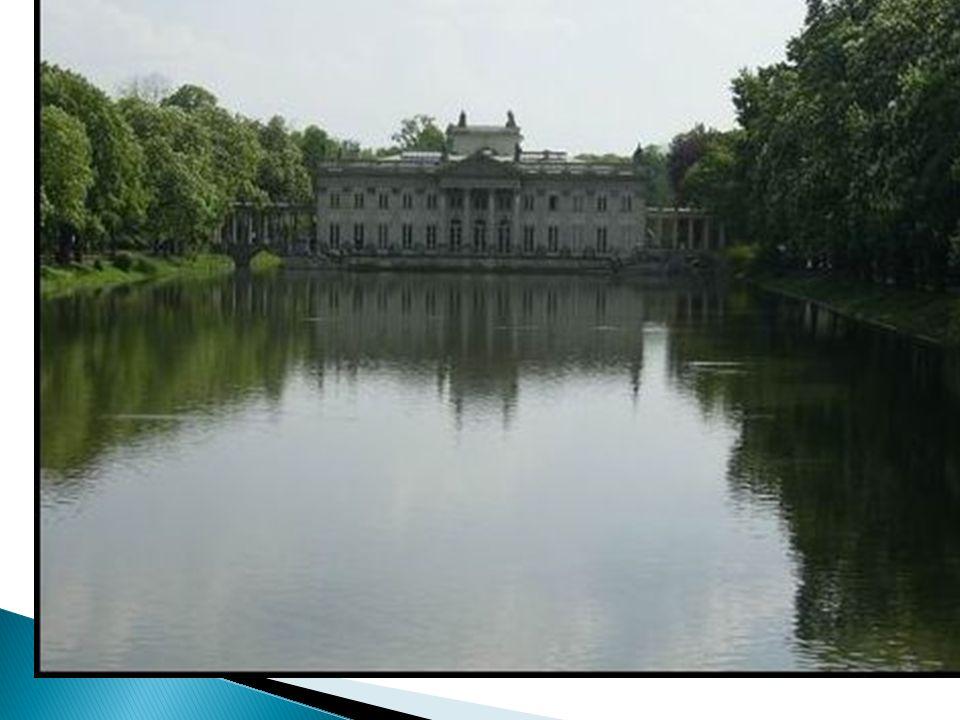 Dominik Merlini – Pałac na Wodzie w Łazienkach – Warszawa (klasycyzm)
