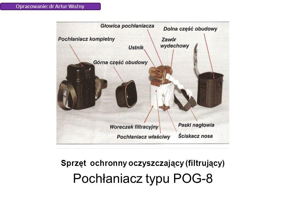 Sprzęt ochronny oczyszczający (filtrujący) Pochłaniacz typu POG-8 Opracowanie: dr Artur Woźny