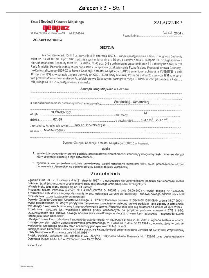 Załącznik 3 - Str. 1