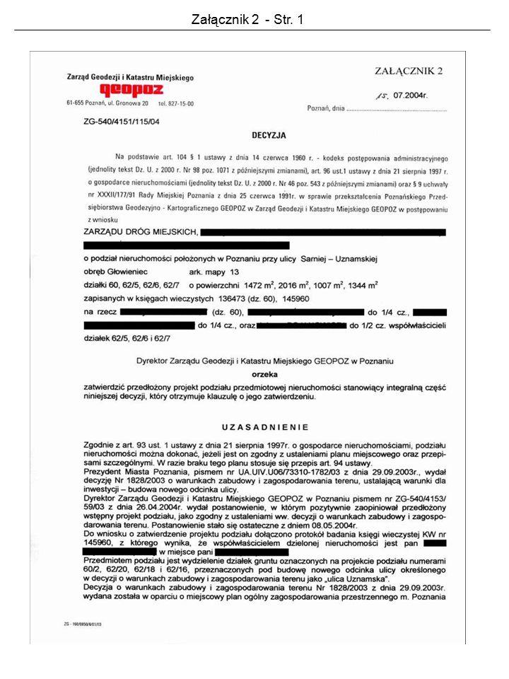 Załącznik 2 - Str. 1