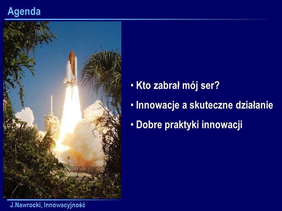 J.Nawrocki, Innowacyjność Zasady skutecznego działania - Plan wykładu Bądź proaktywny