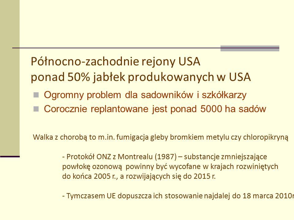Badania w Instytucie Sadownictwa i Kwiaciarstwa w Skierniewicach w latach 2006-2008 Fot. R. Sałuda