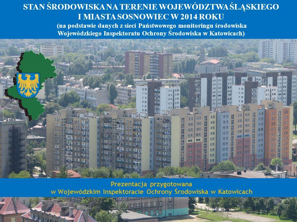 OCENA JAKOŚCI POWIETRZA W 2014 ROKU BENZO(A)PIREN Aglomeracja Górnośląska 1.
