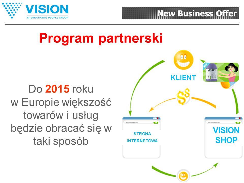 New Business Offer ON-Line Państwo: Korzystacie z produkcji Otrzymujecie za darmo sklep internetowy Państwa link dla klientów: http://visionshop.me/ W