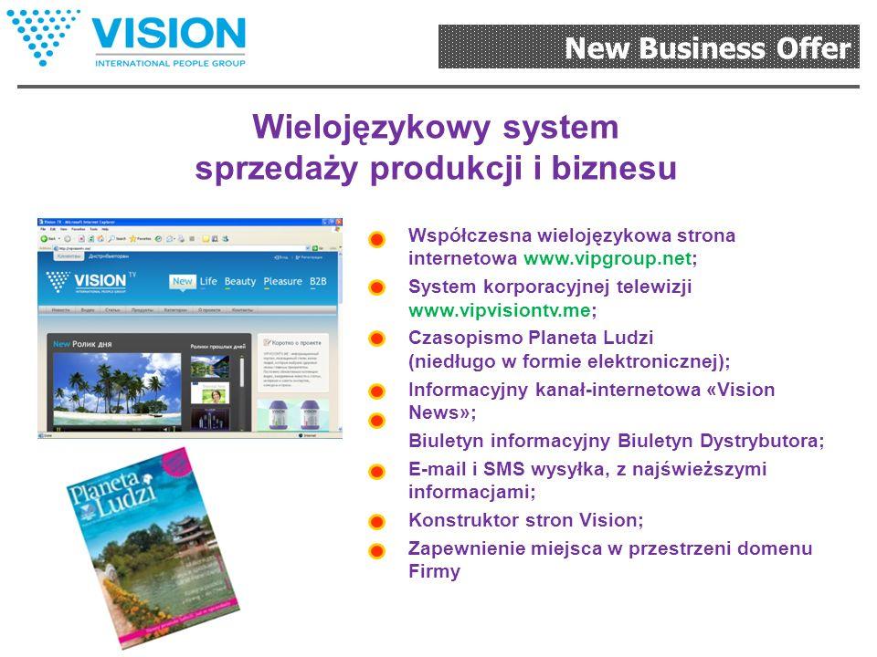 New Business Offer Najlepszy system wypłat Prosty i dostępny plan marketingowy, skierowany na budowę stabilnej organizacji. Możliwości osiągania docho
