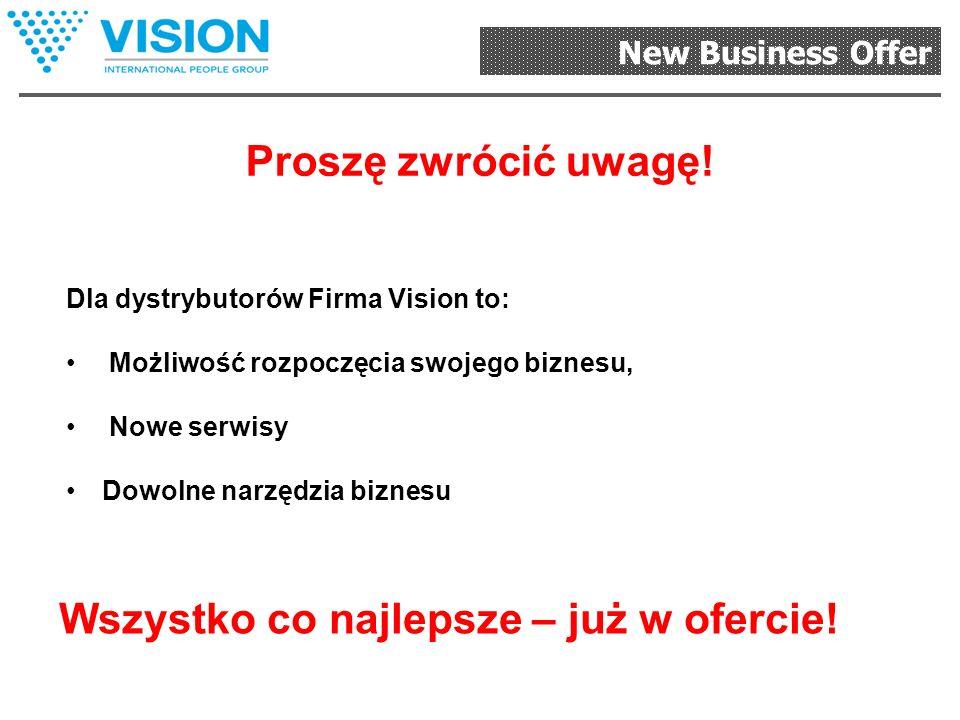 New Business Offer «Profesjonalista» 1. Kupują Państwo produkt wysokiej jakości z dużą zniżką.