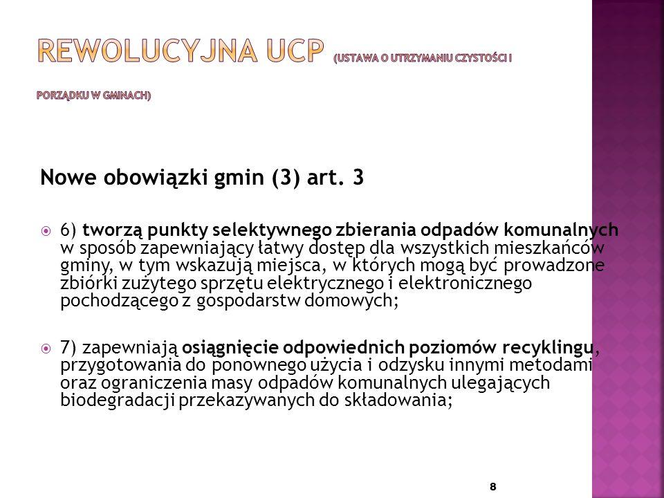 Nowe obowiązki gmin (2) art.