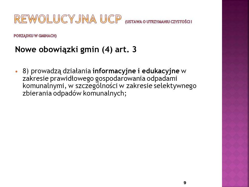 Nowe obowiązki gmin (3) art.
