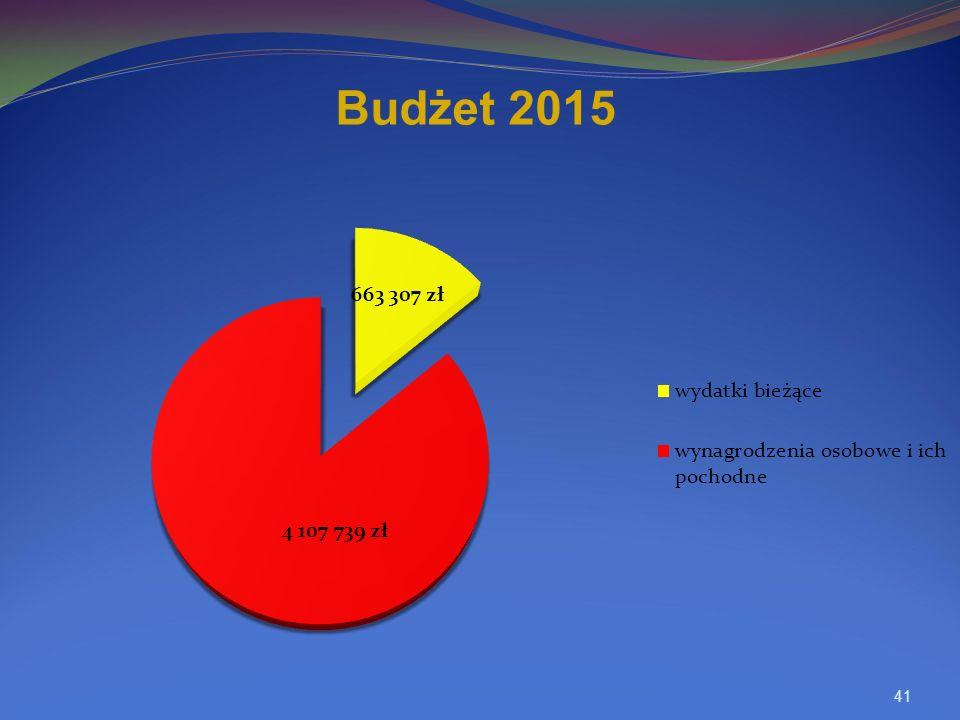 41 Budżet 2015