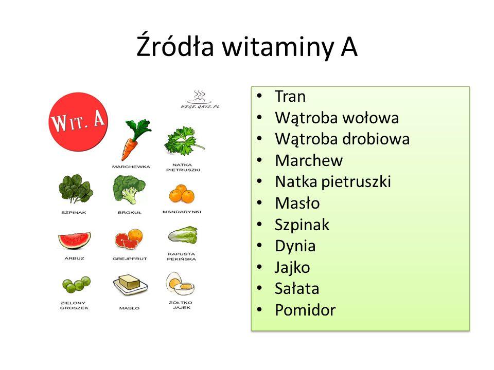 Pamiętajmy o tym, aby spożywać witaminy w odpowiedniej ilości .
