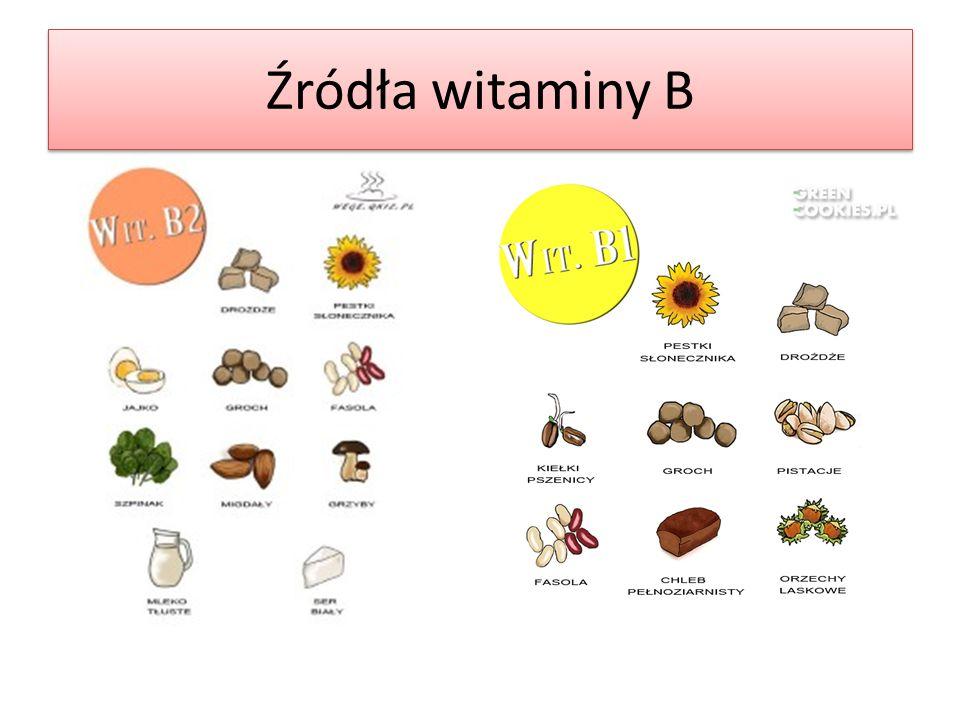 Źródła witaminy B