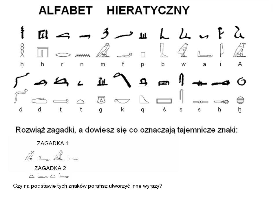 Demotyka Stopniowo wypierając pismo hieratyczne.