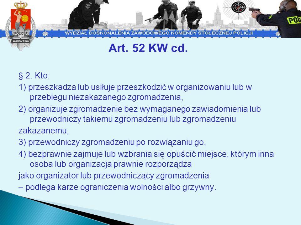 Art.52 KW cd. § 3.