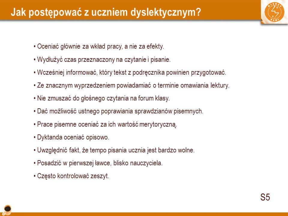 Cechy dobrego podręcznika dla ucznia z dysleksją 1.
