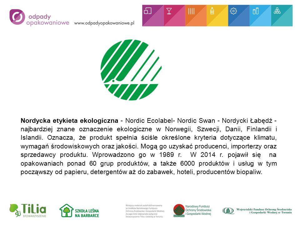 Nordycka etykieta ekologiczna - Nordic Ecolabel- Nordic Swan - Nordycki Łabędź - najbardziej znane oznaczenie ekologiczne w Norwegii, Szwecji, Danii, Finlandii i Islandii.