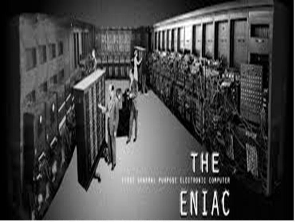 ENIAC (od ang. Electronic Numerical Integrator And Computer – Elektroniczny, Numeryczny Integrator i Komputer) – komputer skonstruowany w latach 1943-