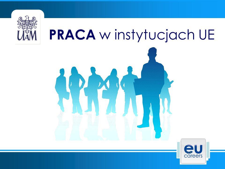 PRACA w instytucjach UE