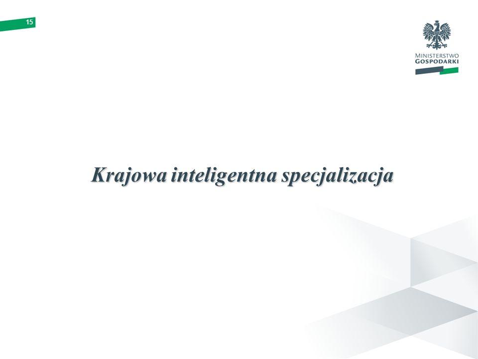 15 Krajowa inteligentna specjalizacja