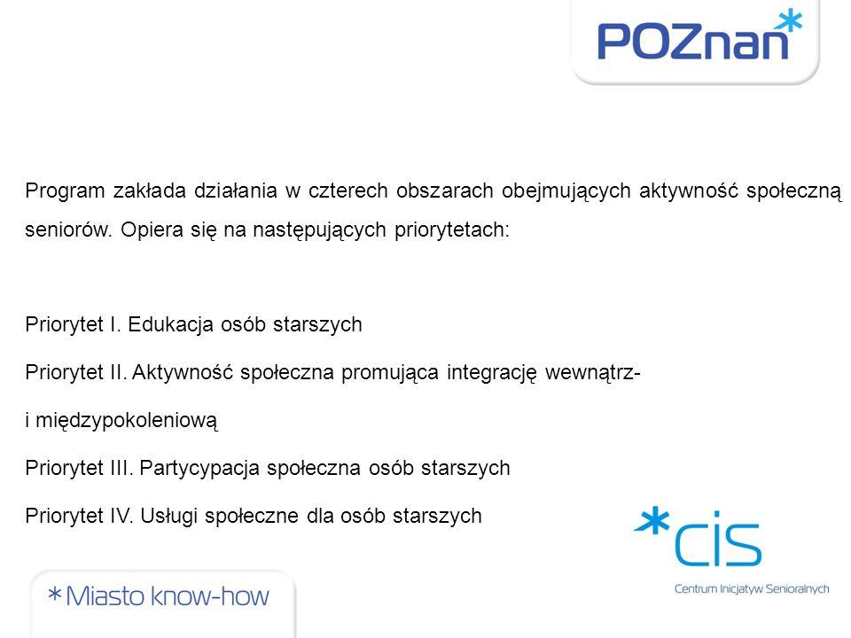 Założenia Długofalowej Polityki Senioralnej w Polsce na lata 2014-2020 pierwszy ogólnopolski rządowy program dla osób starszych