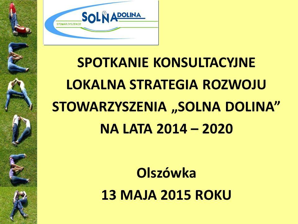 """DZIĘKUJĘ ZA UWAGĘ Magda Fabiniak – spec.d/s projektów Stowarzyszenie """"Solna Dolina ul."""