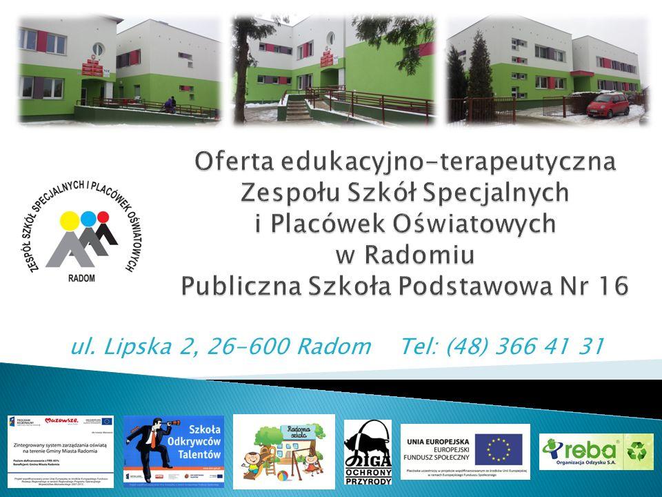 ul. Lipska 2, 26-600 Radom Tel: (48) 366 41 31