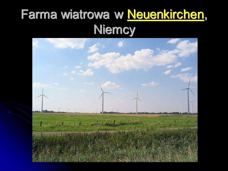 Farma wiatrowa w Neuenkirchen, Niemcy