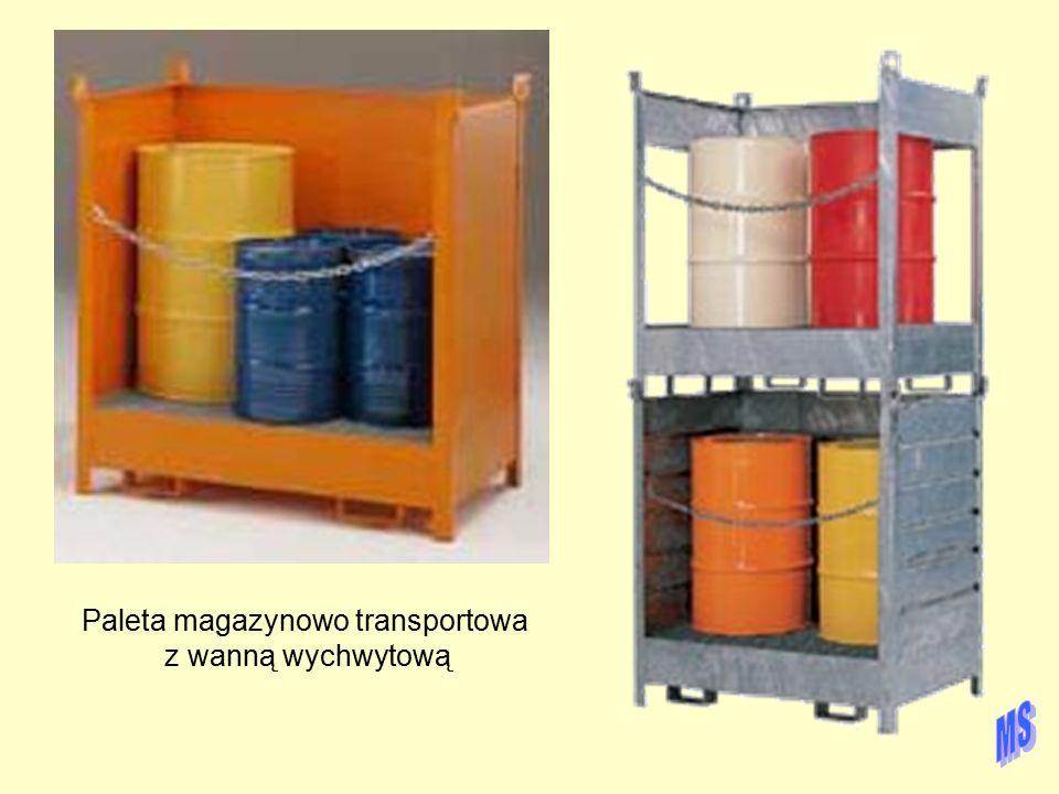 Paleta magazynowo transportowa z wanną wychwytową