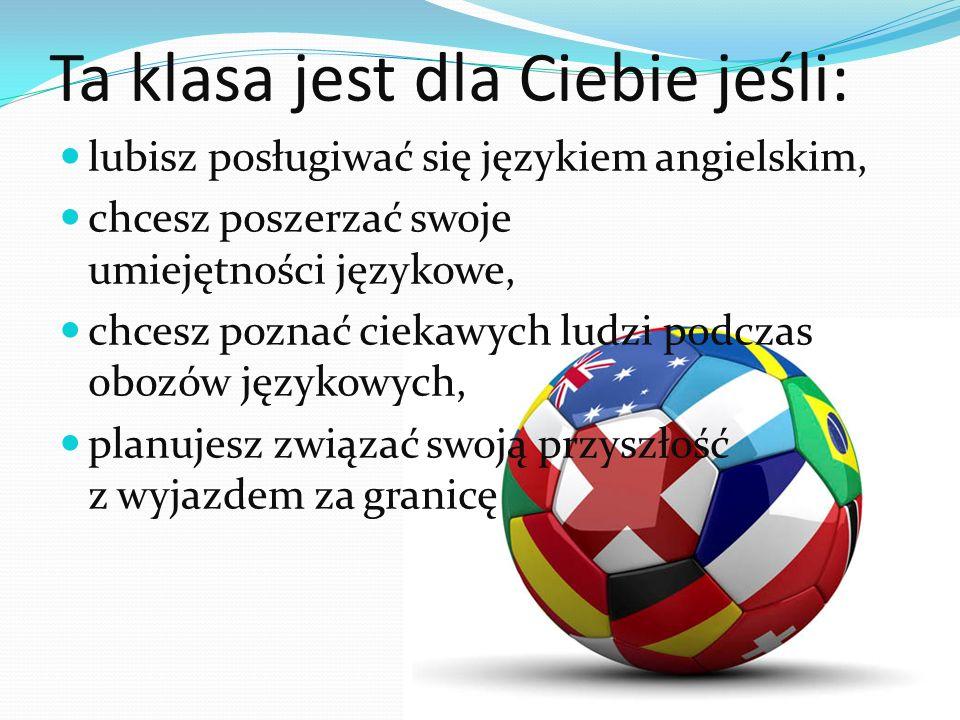 Przedmioty w rozszerzeniu: Od klasy I w rozszerzeniu realizujemy odpowiednio język niemiecki lub hiszpański w zależności od wyboru.