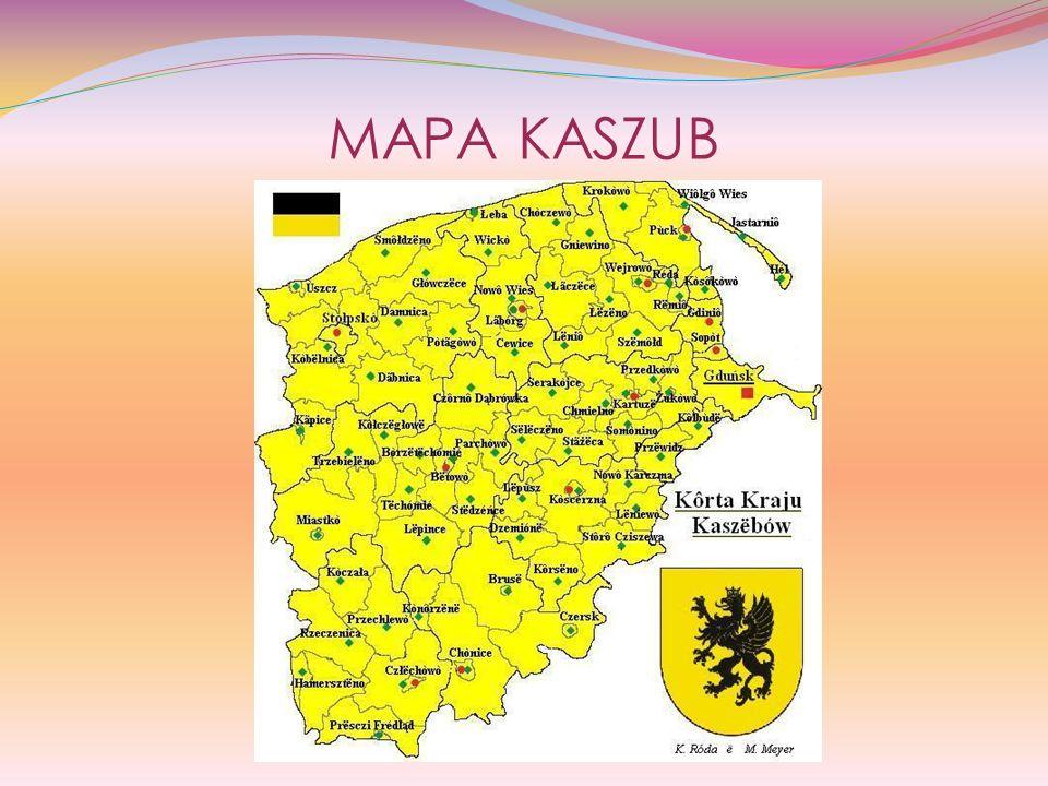 DIALEKT (JĘZYK) KASZUBSKI Język kaszubski używany jest do dziś przez kilkadziesiąt tysięcy Kaszubów zamieszkujących region kaszubski, Polskę, a nawet obszary poza granicami naszego kraju.