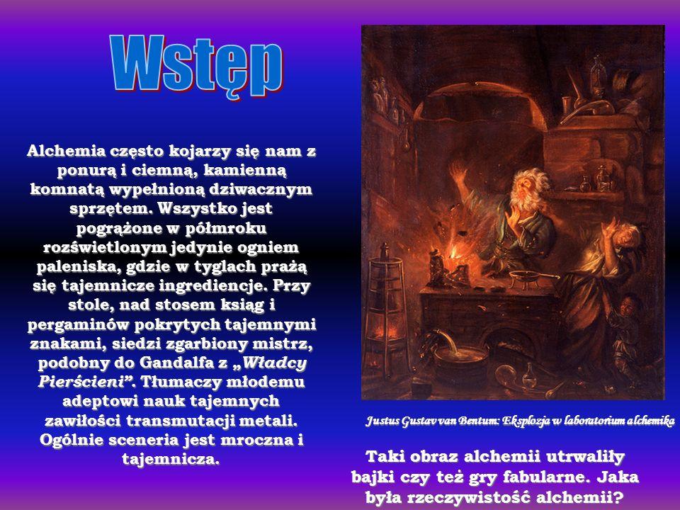 Alchemia często kojarzy się nam z ponurą i ciemną, kamienną komnatą wypełnioną dziwacznym sprzętem.