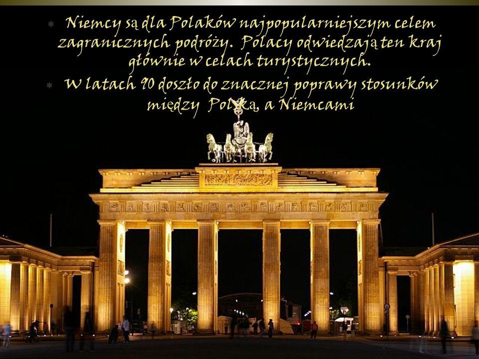  Niemcy s ą dla Polaków najpopularniejszym celem zagranicznych podró ż y.