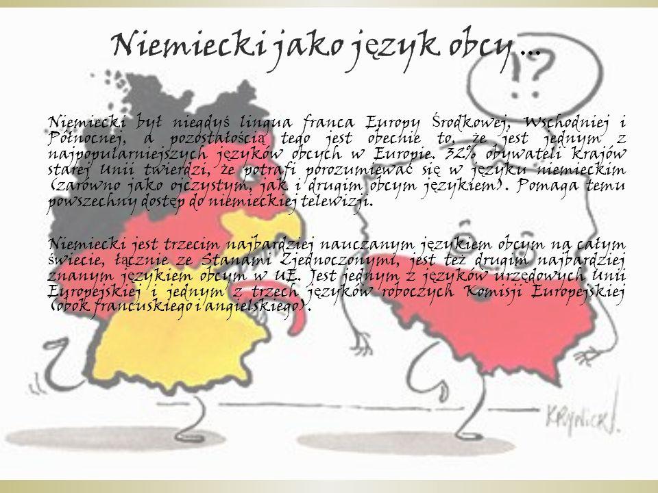 Niemiecki jako j ę zyk obcy....