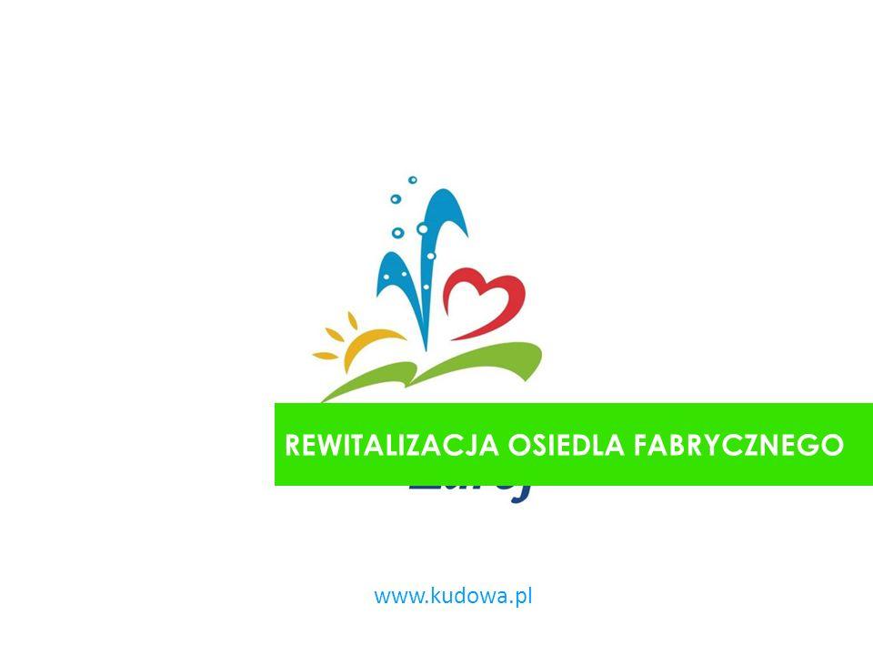 www.kudowa.pl REWITALIZACJA OSIEDLA FABRYCZNEGO