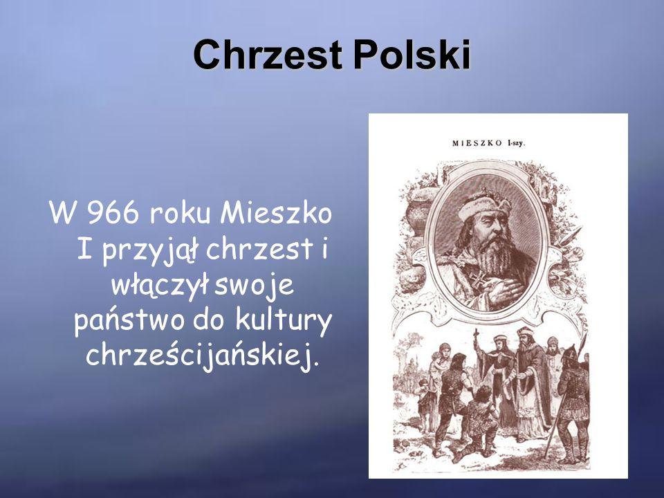 Bolesław Chrobry Był pierwszym królem Polski koronowanym w roku 1025.