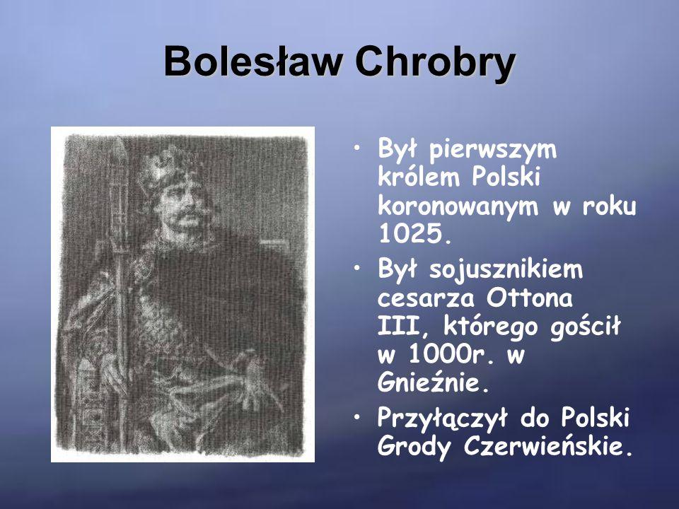 Polska za czasów panowania Bolesława Chrobrego