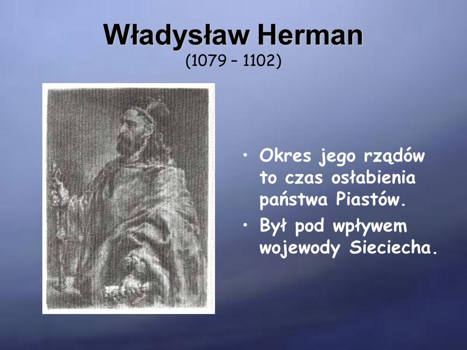 Bolesław Krzywousty Bolesław Krzywousty (1102 – 1138) Waleczny władca.