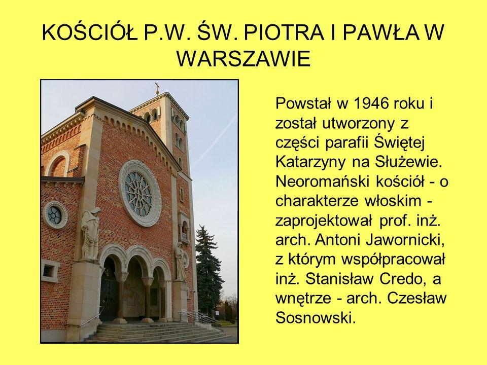KOŚCIÓŁ P.W. ŚW.