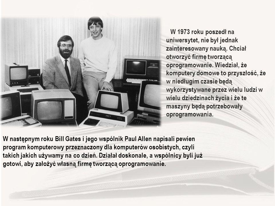 W 1973 roku poszedł na uniwersytet, nie był jednak zainteresowany nauką.