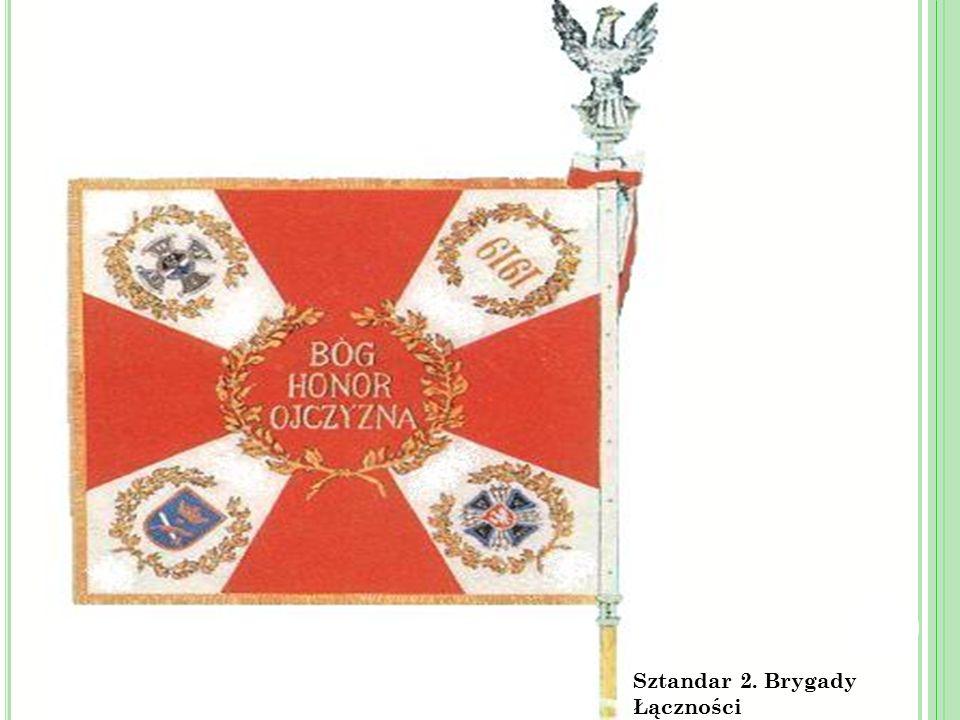 Sztandar 2. Brygady Łączności