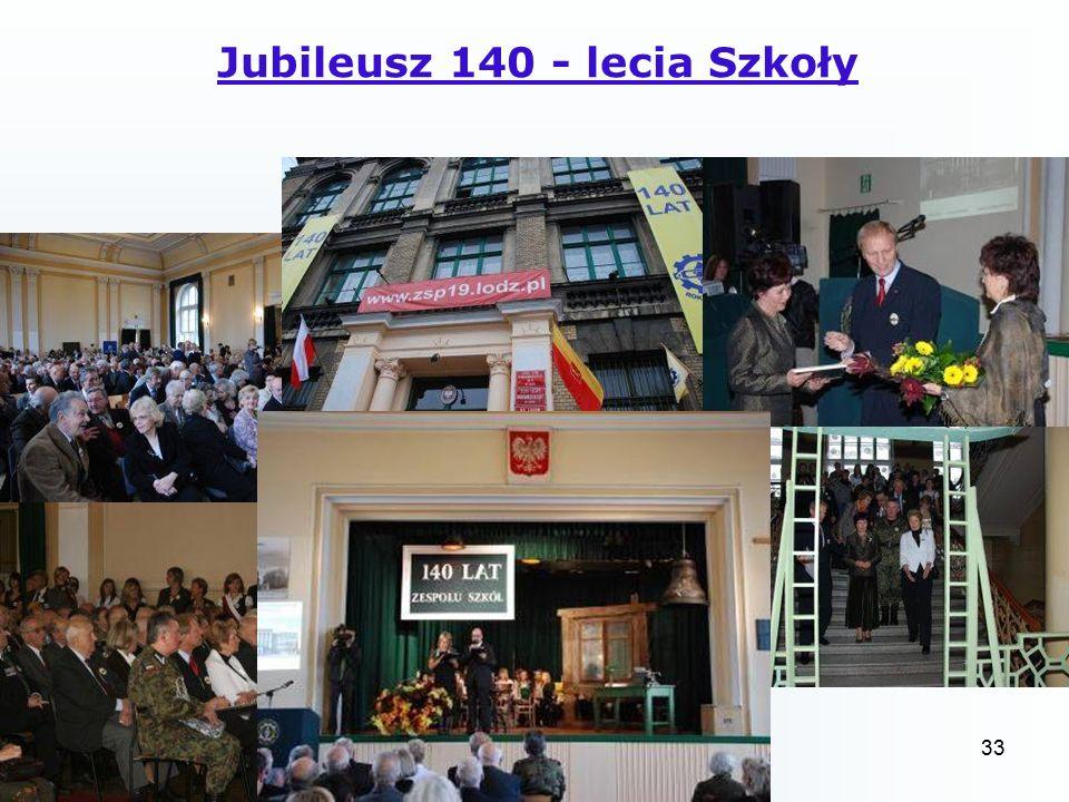 33 Jubileusz 140 - lecia Szkoły