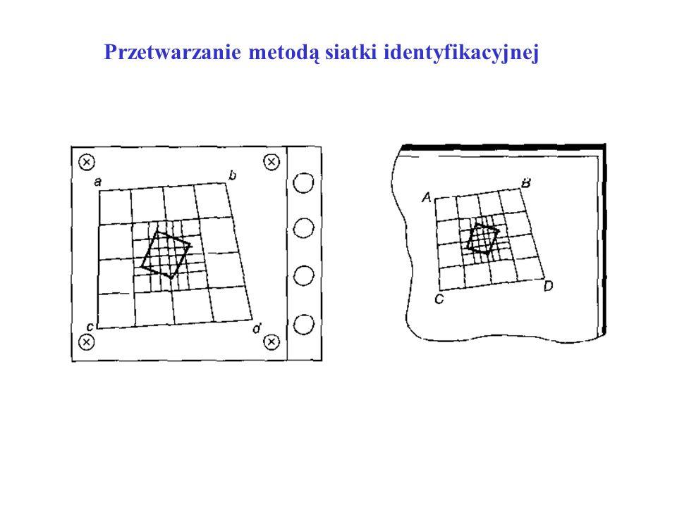 Przetwarzanie metodą siatki identyfikacyjnej