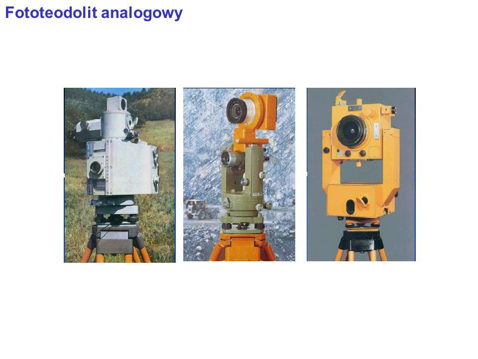 Podstawy stereofotogrametrii Fotogrametria dwuobrazowa polega na wykonaniu z dwóch lub więcej stanowisk kamery (w niektórych zadaniach - synchronicznie) Elementy orientacji: zewnętrzne – X o, Y o, Z o - współrzędne środka rzutów, kąty: , ,  - orientacji osi kamery w układzie XYZ.