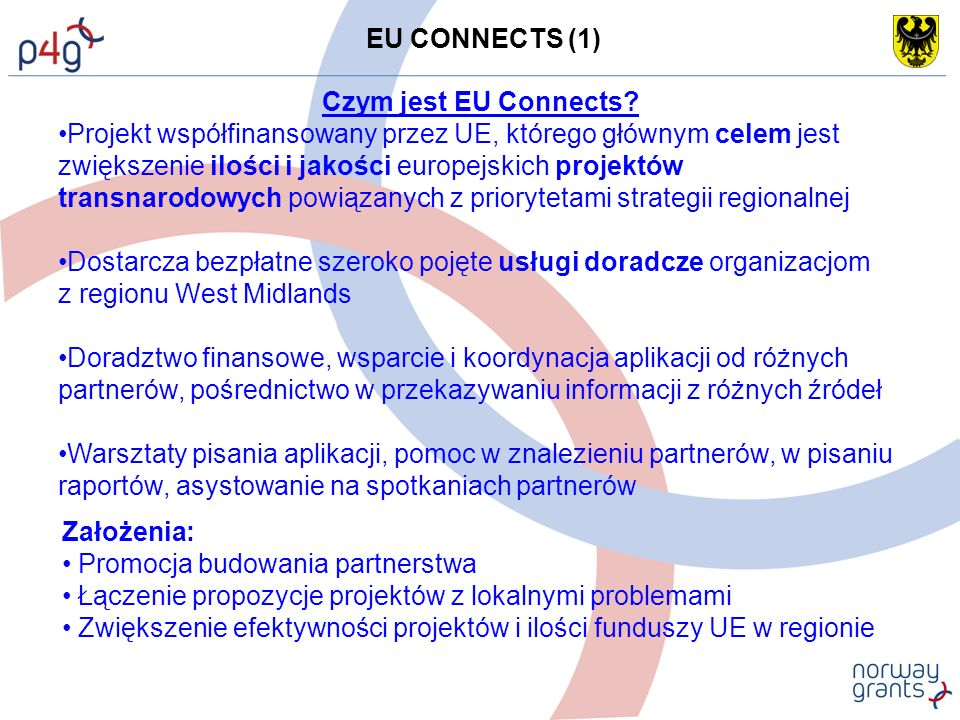 EU CONNECTS (1) Czym jest EU Connects.