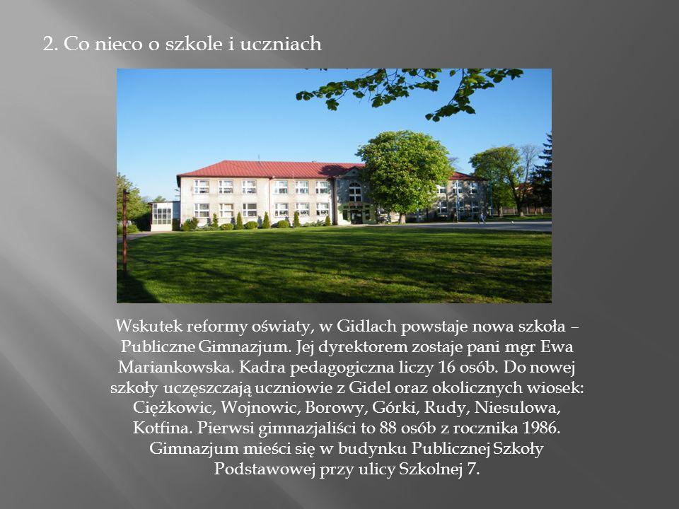 7.Bibliografia: www.pg-gidle.cba.pl dokumentacja szkoły